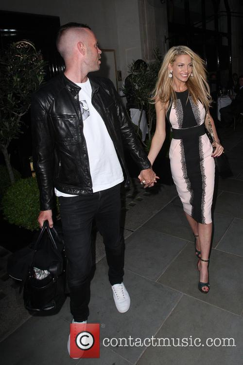 Sarah Harding and Mark Foster 1