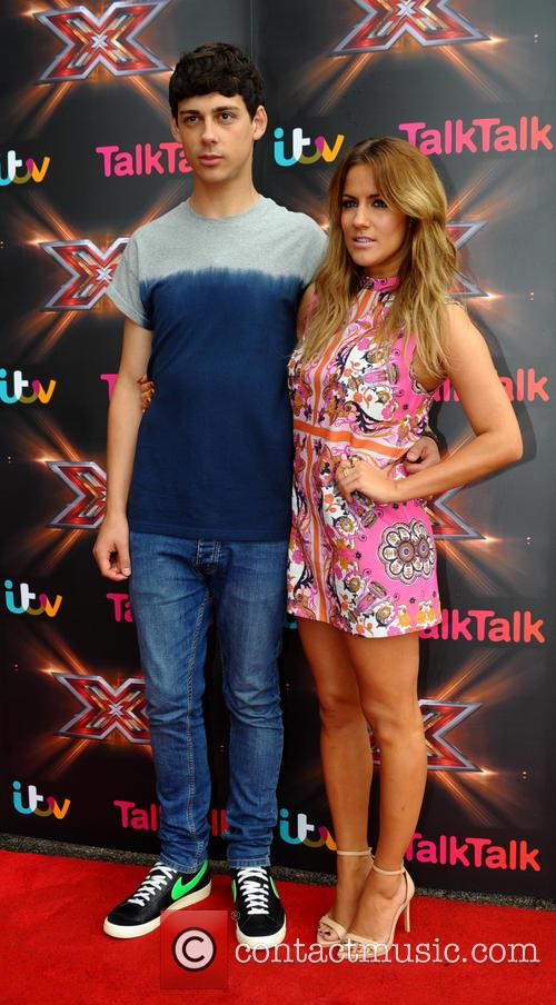 caroline flack the x factor judges in 3719796