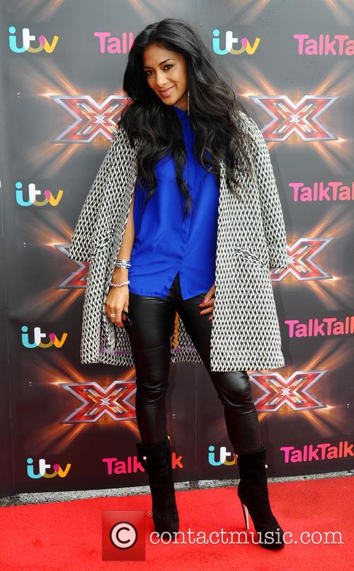 nicole scherzinger the x factor judges in 3719799