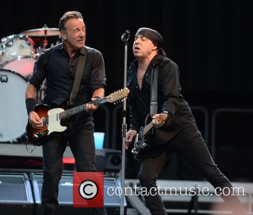 Bruce Springsteen and Steven Van Zandt 6