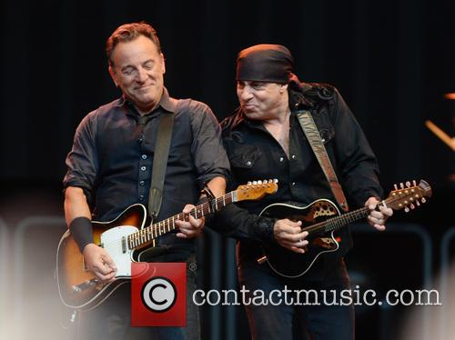 Bruce Springsteen and Steven Van Zandt 1