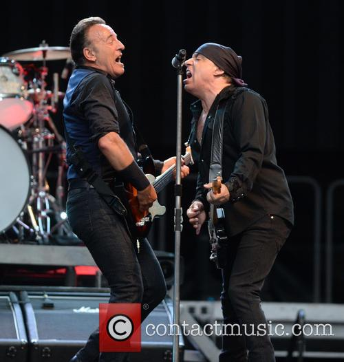 Bruce Springsteen and Steven Van Zandt 8