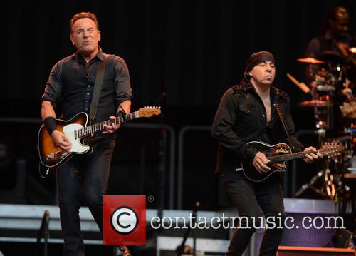 Bruce Springsteen and Steven Van Zandt 9
