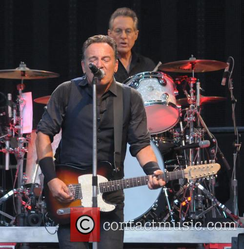 Bruce Springsteen & the E Street Band perform...