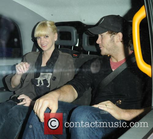 Anna Faris and Chris Pratt 2
