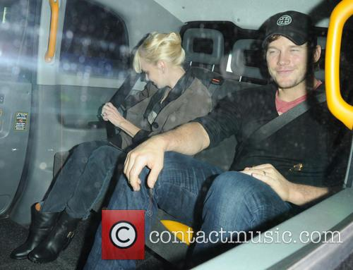Anna Faris and Chris Pratt 3