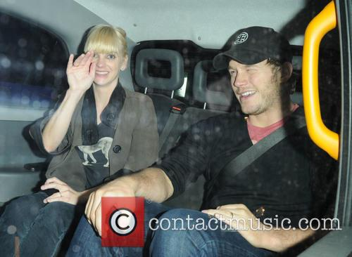 Anna Faris and Chris Pratt 4