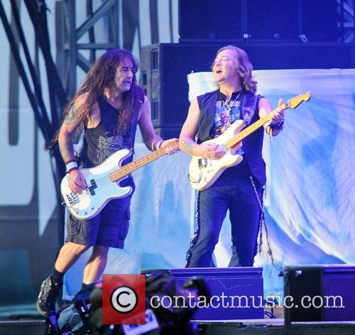 Steve Harris, Bruce Dickinson and Iron Maiden 10