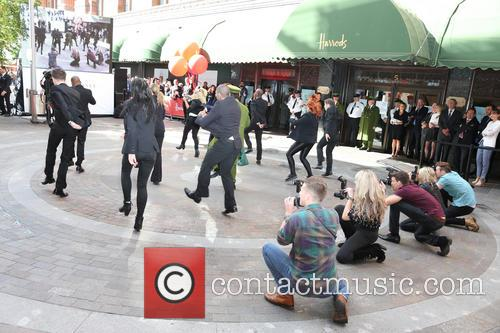 Harrods Flash Mob Dance Routine