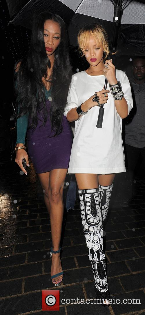 picture rihanna and melissa forde photo 3720486. Cars Review. Best American Auto & Cars Review
