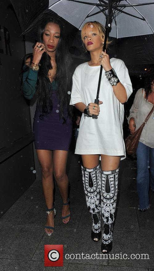 picture rihanna and melissa forde london united kingdom saturday. Cars Review. Best American Auto & Cars Review