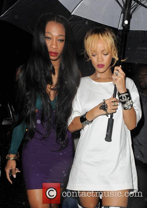 picture rihanna and melissa forde photo 3720496. Cars Review. Best American Auto & Cars Review