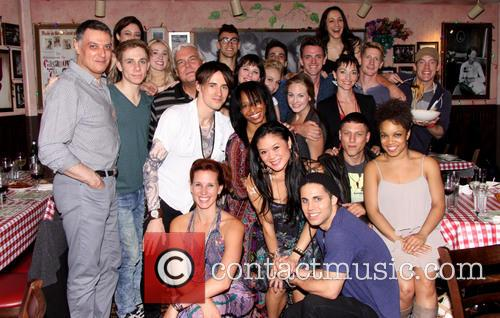 Reeve Carney, Robert Cuccioli and Cast 8