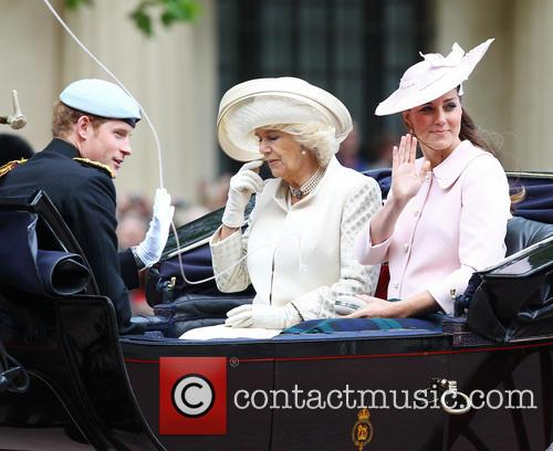 Catherine, Duchess of Cambridge, Kate Middleton, Camilla, The Duchess of Cornwall and Prince Harry 6