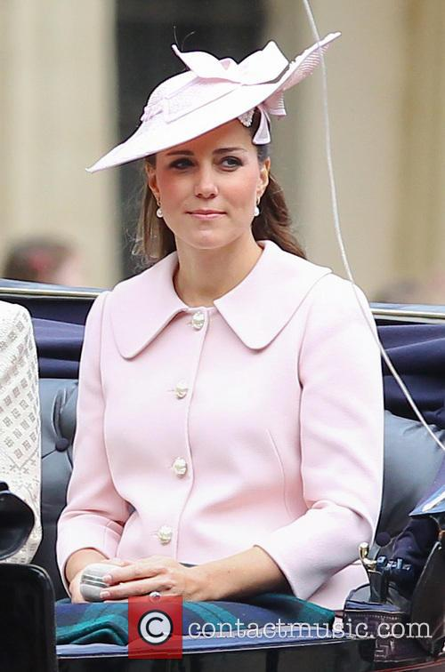 Kate Middleton, Queen's Birthday Parade