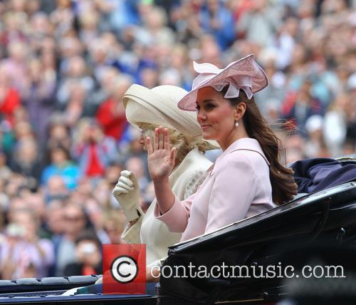 The Duchess Of Cambridge and The Duchess Of Cornwall 2