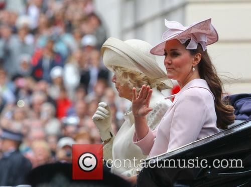 The Duchess Of Cambridge and The Duchess Of Cornwall 1