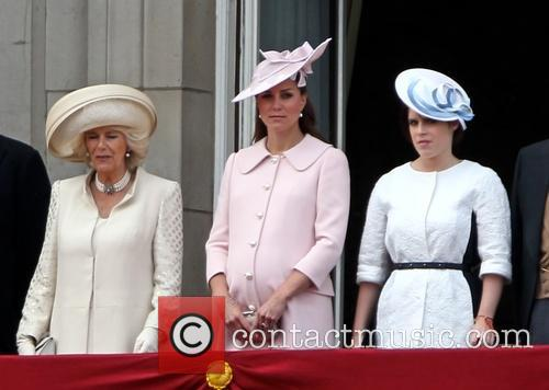 Catherine, Duchess of Cambridge, Kate Middleton, Camilla, The Duchess of Cornwall, Princess Eugenie