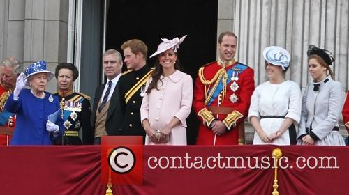 Prince Charles, Queen Elizabeth Ii, Prince Harry, Catherine, Duchess Of Cambridge, Kate Middleton, Princess Eugenie, Prince Andrew, Prince William, Duke Of Cambridge, Duke Of York and Princess Beatrice 7