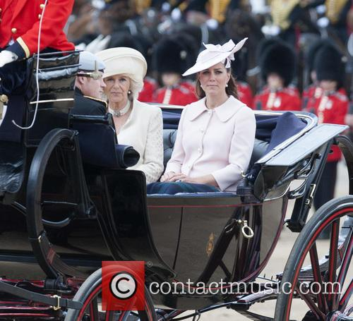 Kate Middleton, The Duchess Of Cambridge, Camilla, The Duchess Of Cornwall and Prince Harry 1