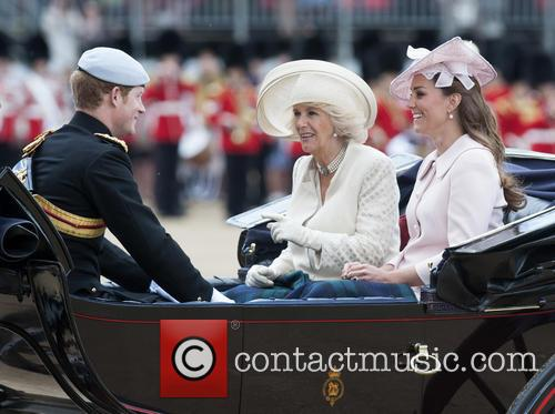 Kate Middleton, The Duchess Of Cambridge, Camilla, The Duchess Of Cornwall and Prince Harry 9