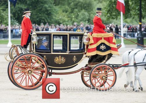 queen elizabeth ii trooping the colour 2013 3720960