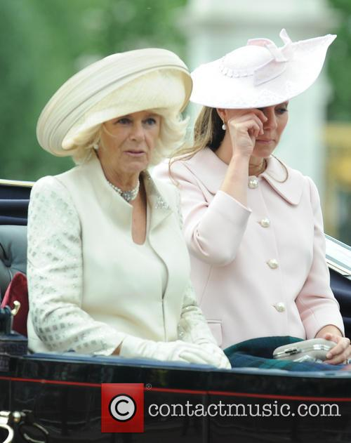 Camilla, Duchess Of Cornwall, Katherine and Duchess Of Cambridge 1