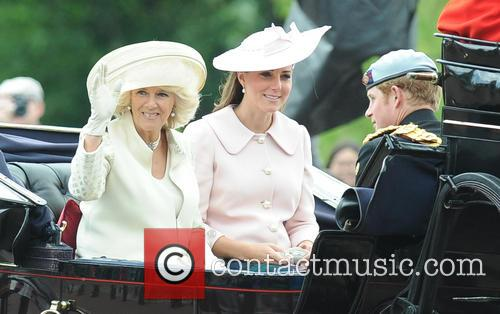 Camilla, Duchess Of Cornwall, Katherine and Duchess Of Cambridge 3