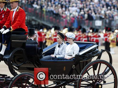 princess beatrice princess eugenie trooping the colour 2013 3720765