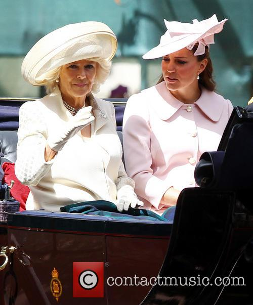 Catherine, Duchess Of Cambridge, Kate Middleton, Camilla and The Duchess Of Cornwall 4