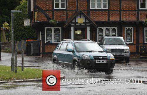 Wet weather in Beaconsfield