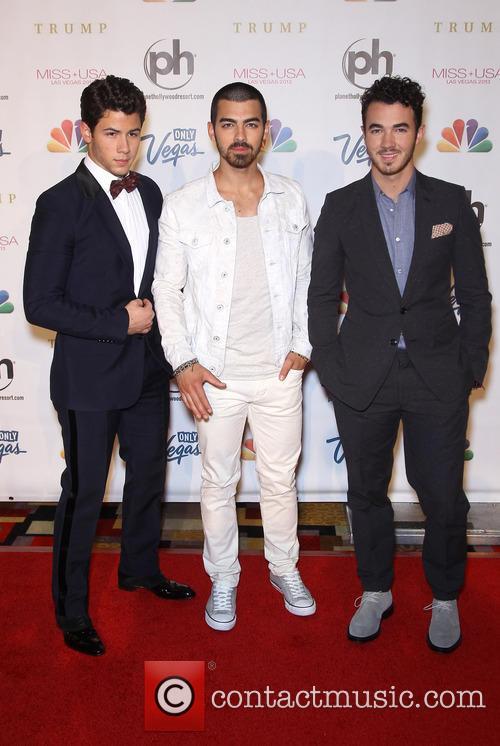 Nick, Kevin and Joe Jonas