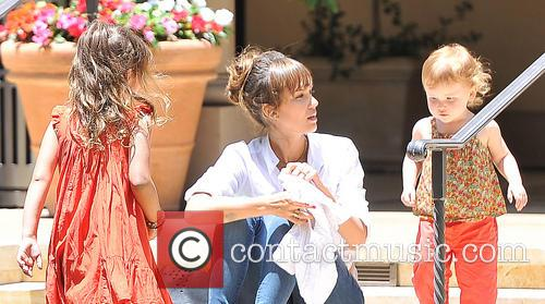 Jessica Alba, Haven Warren and Honor Warren 3