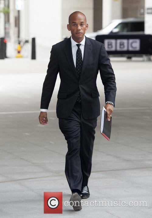 Politicians arrive at the BBC studios