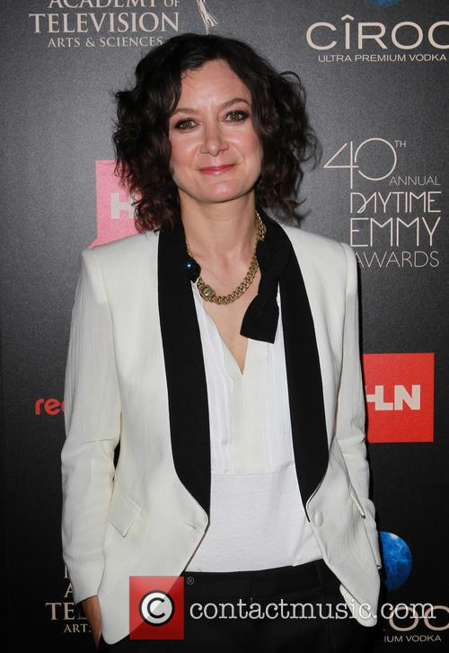 Sara Gilbert, The Beverly Hilton, Daytime Emmy Awards, Emmy Awards, Beverly Hilton Hotel