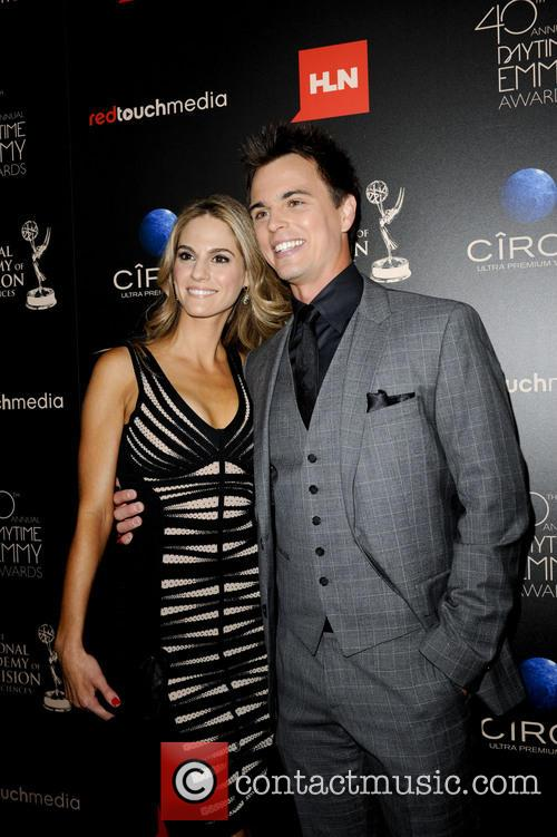 Darin Brooks, Kelly Kruger, Daytime Emmy Awards, Emmy Awards, Beverly Hilton Hotel