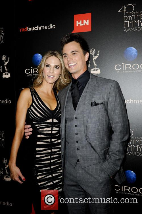 kelly kruger darin brooks 40th annual daytime emmy 3722267