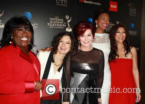 Sheryl Underwood, Sara Gilbert, Aisha Tyler, Sharon Osbourne and Julie Chen 1