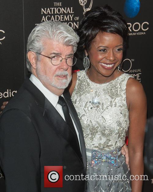 George Lucas and Mellody Hobson 3
