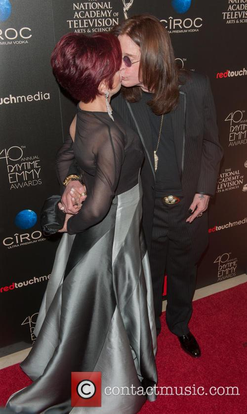 Sharon Osbourne, Ozzy Osbourne, Beverly Hilton Hotel, Daytime Emmy Awards, Emmy Awards