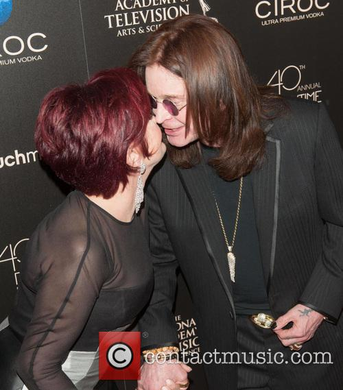 Sharon Osbourne and Ozzy Osbourne 1