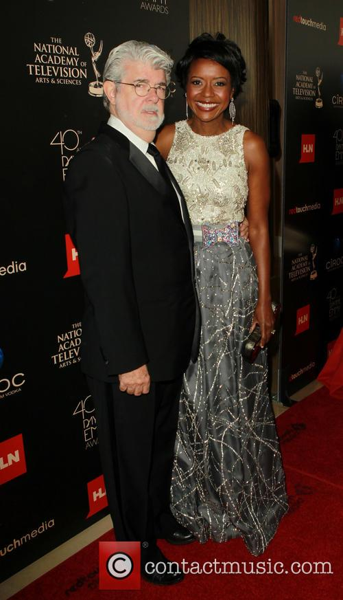 George Lucas and Mellody Hobson 4