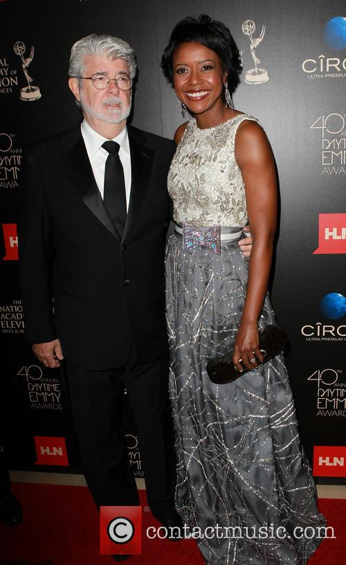 George Lucas and Mellody Hobson 5