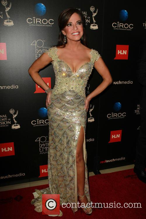 Robin Meade, The Beverly Hilton, Daytime Emmy Awards, Emmy Awards, Beverly Hilton Hotel