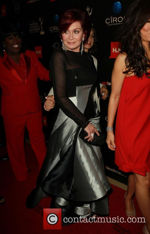 Sharon Osbourne, The Beverly Hilton, Daytime Emmy Awards, Emmy Awards, Beverly Hilton Hotel