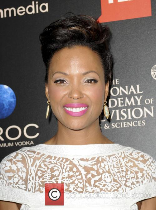 Aisha Tyler, Daytime Emmy Awards, Emmy Awards, Beverly Hilton Hotel