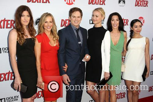 Jennifer Carpenter, Julie Benz, Michael C. Hall, Yvonne Strahovski, Jaime Murray and Aimee Garcia 4
