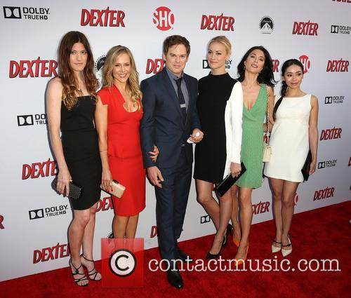 Jennifer Carpenter, Julie Benz, Michael C. Hall, Yvonne Strahovski, Jaime Murray and Aimee Garcia 5