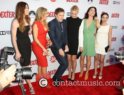 Jennifer Carpenter, Julie Benz, Michael C. Hall, Yvonne Strahovski, Jaime Murray and Aimee Garcia 6