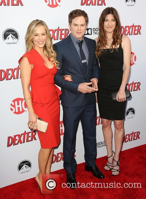Julie Benz, Michael C. Hall, Jennifer Carpenter
